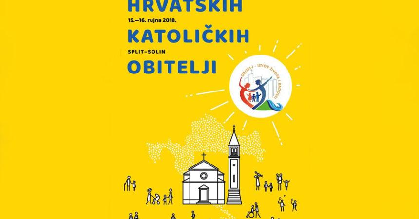 Prijavite se na Treći nacionalni susret hrvatskih katoličkih obitelji u Solinu