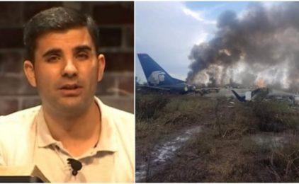 """""""ISUS KRIST JE ŽIV"""": Putnik meksičkog aviona svjedoči kako je Isus spasio živote 103 putnika"""