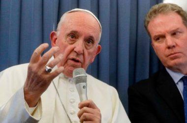 """Papa Franjo: """"Uočio sam mnogo vjere u Irskoj"""""""