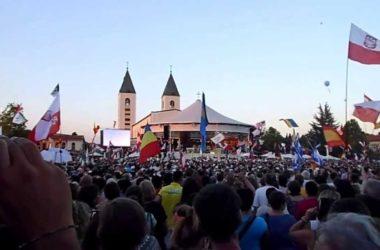 (VIDEO) Tisuće raspjevanih mladih na zadnjem danu Mladifesta u Međugorju