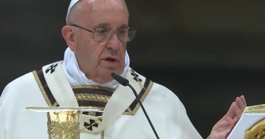 Papa: pastir je blag, blizu narodu, suosjeća i moli