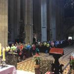 Vjernici Grada Zagreba na zavjetnom hodočašću u Mariju Bistricu