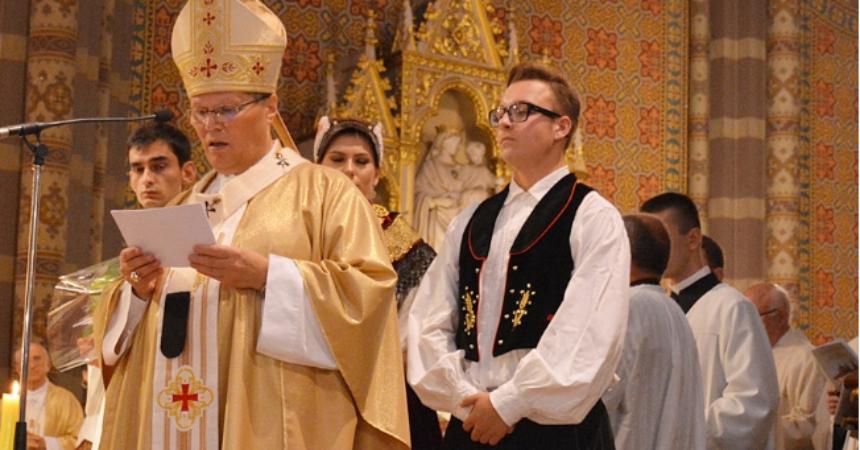 Pozdrav đakovačko-osječkog nadbiskupa metropolita Đure Hranića