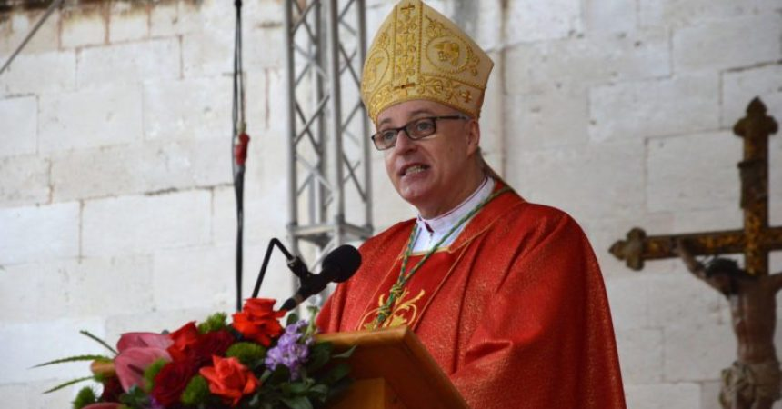 Biskup Živković u herojskom Vukovaru: 'Ne plači majko, ne plači oče! Ne plači Hrvatska!'