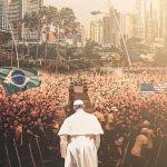 """Pred 250.000 mladih papa poručio: """"Nadu prenose vaša lica i vaša molitva"""""""