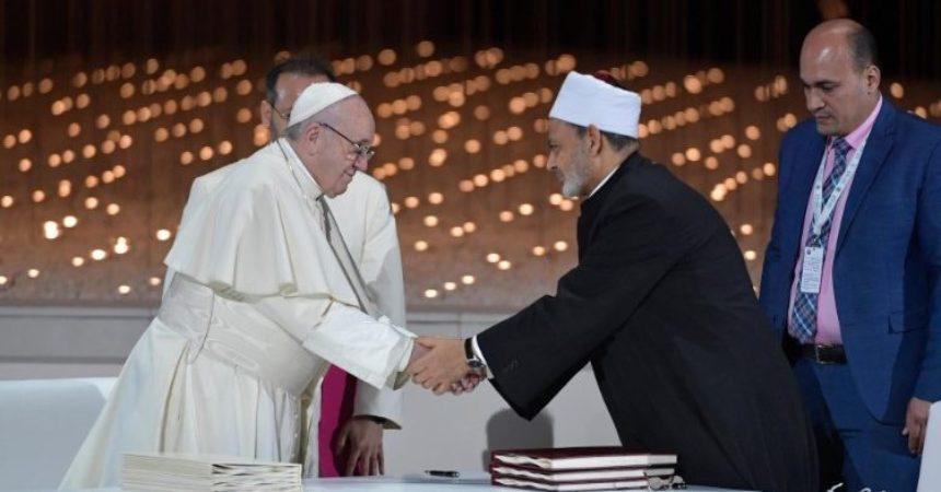 Papa i veliki imam Al-Tayyib: Povijesna deklaracija o miru, slobodi i pravima žena