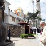 Papa Franjo posjetio Memorijalni centar Majke Terezije u Skoplju