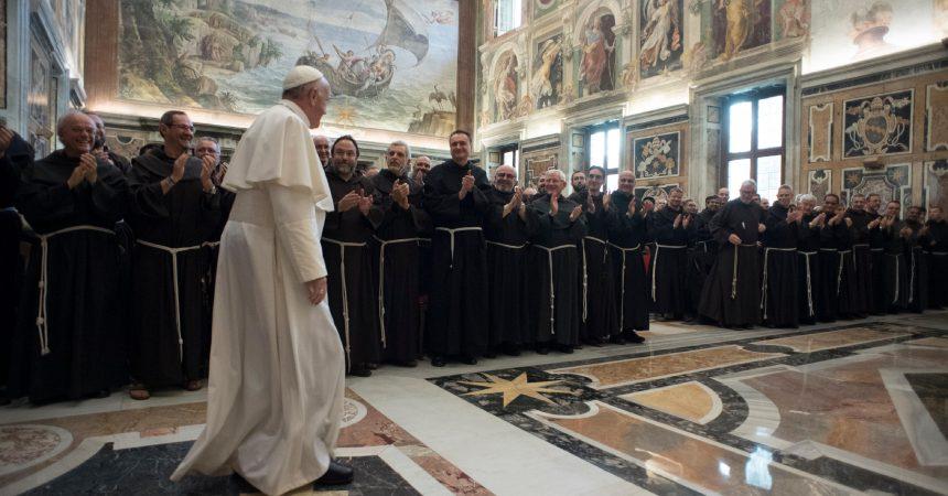 Papa Franjo franjevcima kapucinima: Budite ponizni i slijedite poziv Gospodnji