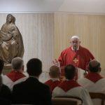 Papa: Đavao uništava čovjeka, jer je Bog postao jedan od nas