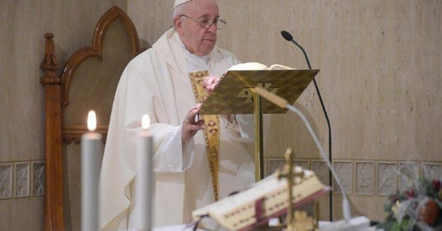 Papa u Domu svete Marte: 'Ne' duhu svijeta koji vodi u iskvarenost