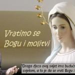 MEĐUGORJE: GOSPA POZIVA DA U SVOJIM ŽUPAMA OTVARAMO MOLITVENE GRUPE