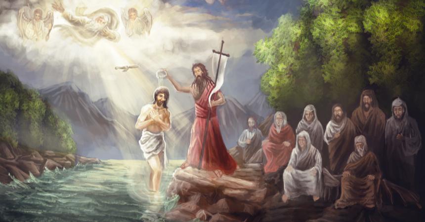 Kristovo krštenje za nas je preporođenje, novo rođenje iz vode u Duha!