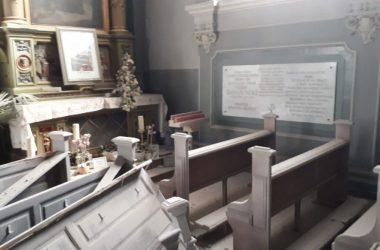 Zagrebu bazilika Srca Isusova, Grob i slika bl. Ivana Merza u potresu ostali neoštećeni