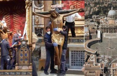 ČUDOTVORNI KRIŽ Na Trgu sv. Petra u Rimu bit će postavljen križ koji je u 16. stoljeću čudesno spasio Rim od kuge