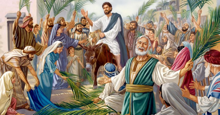 5. travnja Cvjetnica – sjećajmo se kroz ovaj Veliki Tjedan da je Isus pobijedio smrt i živi vječno!