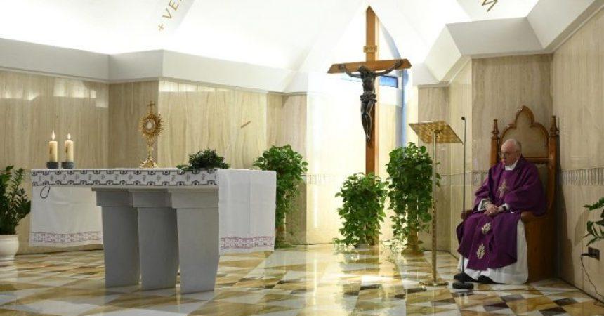 Papa: Bijeg od služenja je udaljavanje od Božje ljubavi