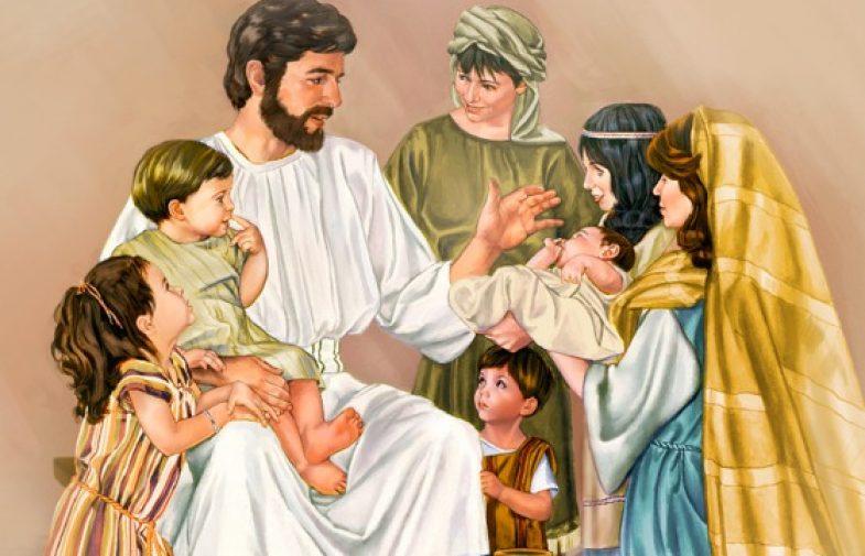 "Isus kaže""Pustite djecu k meni"""