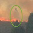Dok je obitelj molila za zaštitu imovine od požara, čudno su snimili nevjeran fotografiju nad njihovom imovinom ugledali Božji lik